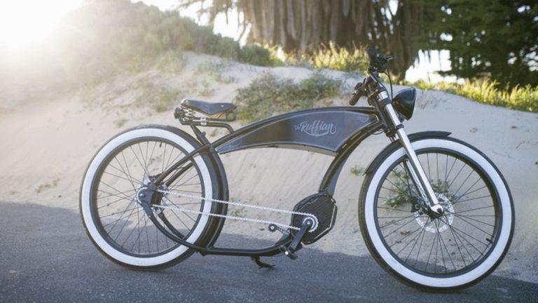 A bicicleta ecológica de estilo retro