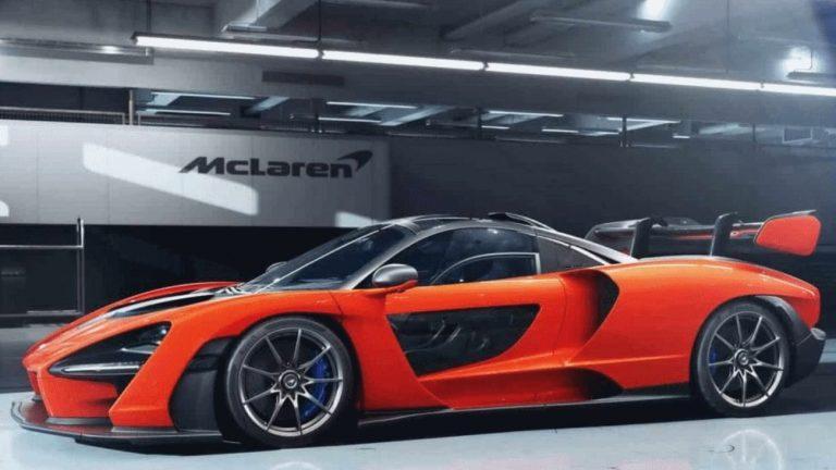McLaren presta homenagem a Senna com 800 cavalos