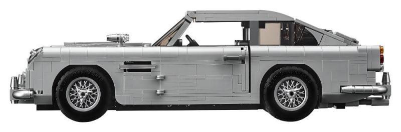 Aston Martin de James Bond à venda por 150 euros