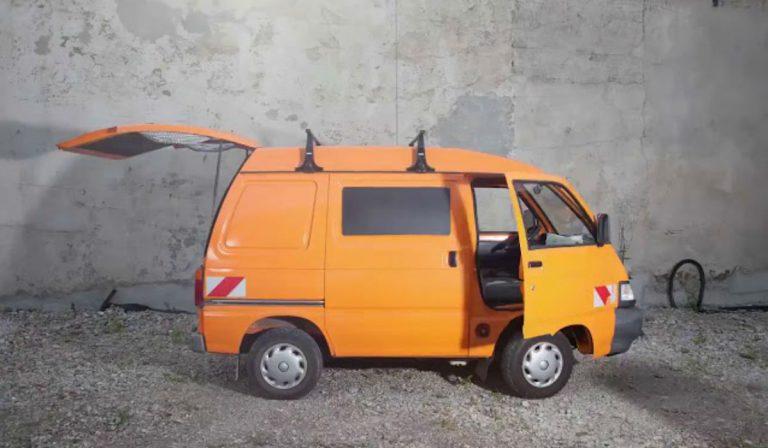 A autocaravana mais pequena do mundo é espetacular