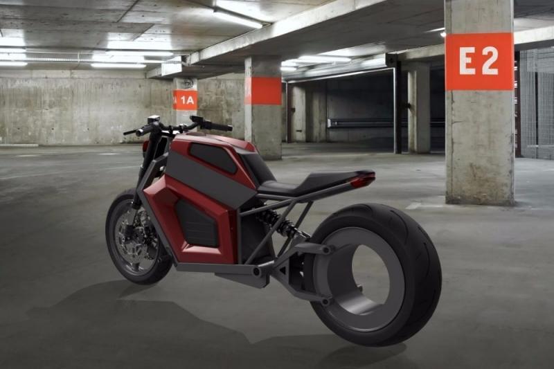Finlandeses criam moto elétrica vinda do futuro com 300 km de autonomia