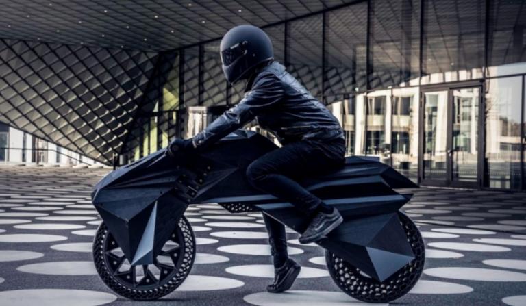NERA, a primeira moto construída por uma impressora 3D