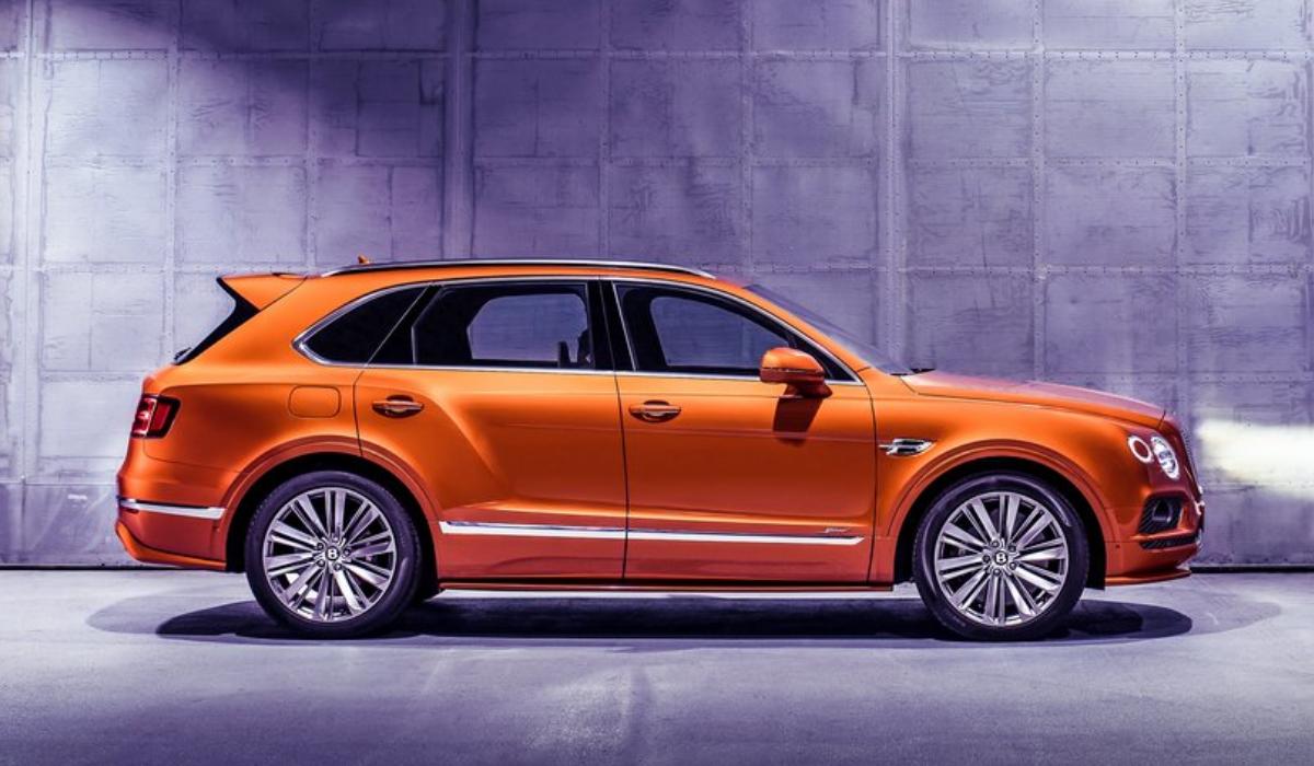 Bentley Bentayga Speed O Suv Mais Rapido Do Mundo