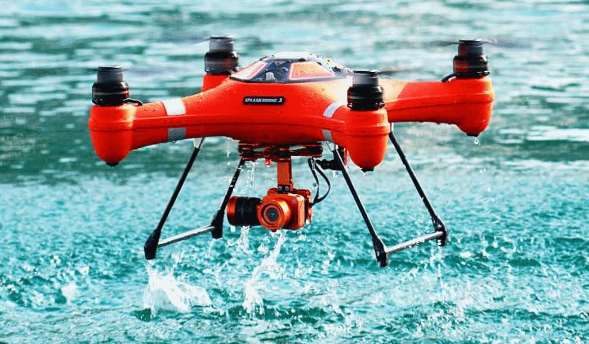 Spry, o drone que vai consigo para debaixo de água