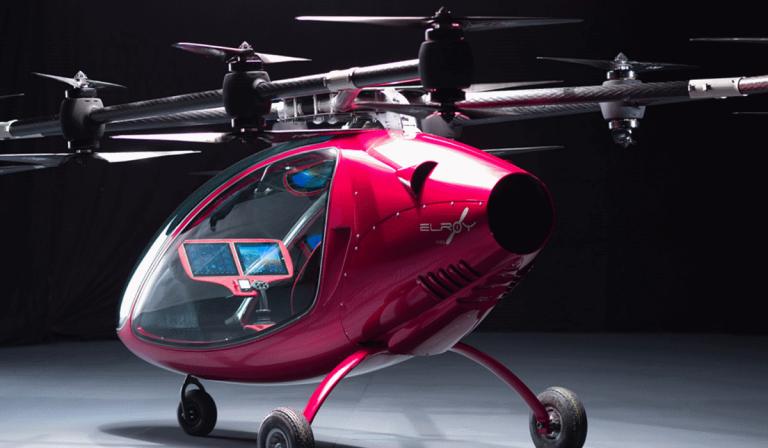 Astro Elroy, o drone de passageiros que vai fazer com que deixe de estar preso no trânsito