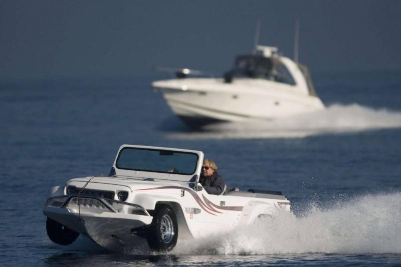 O veículo anfíbio mais rápido do mundo