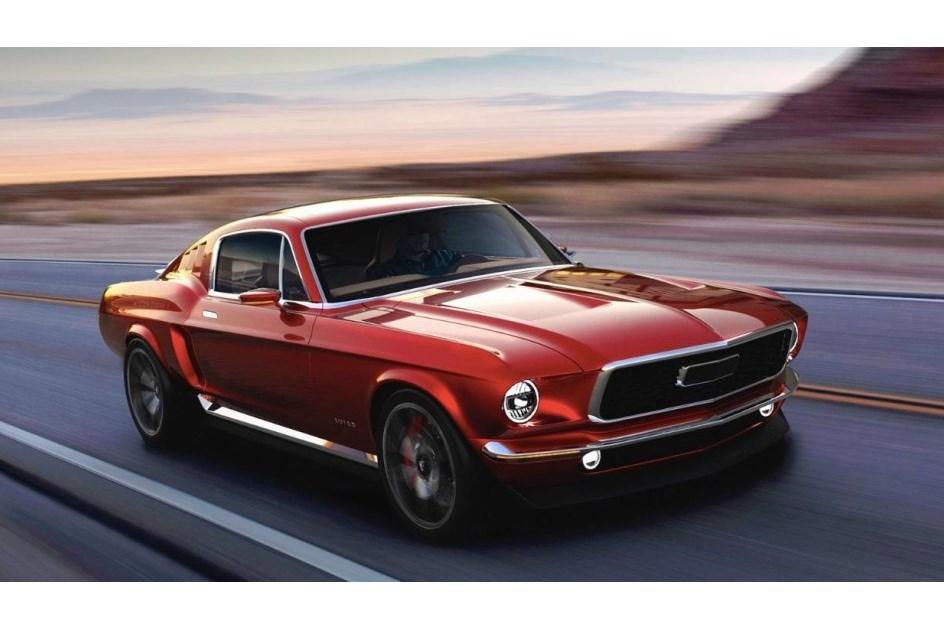 Russos criam Mustang elétrico de 840 cavalos