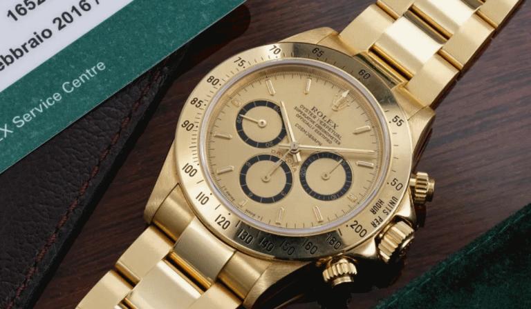 Este Rolex Daytona de ouro,que Ayrton Senna ofereceu ao mentor, pode ser seu