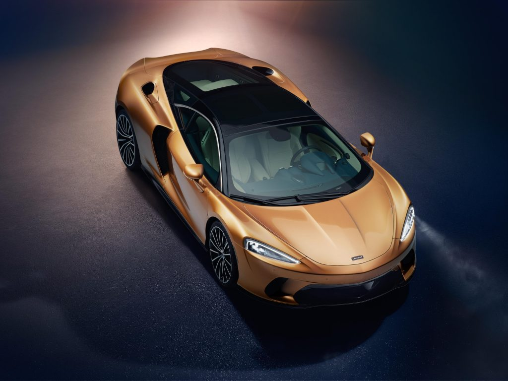 McLaren surpreende com inédito modelo GT