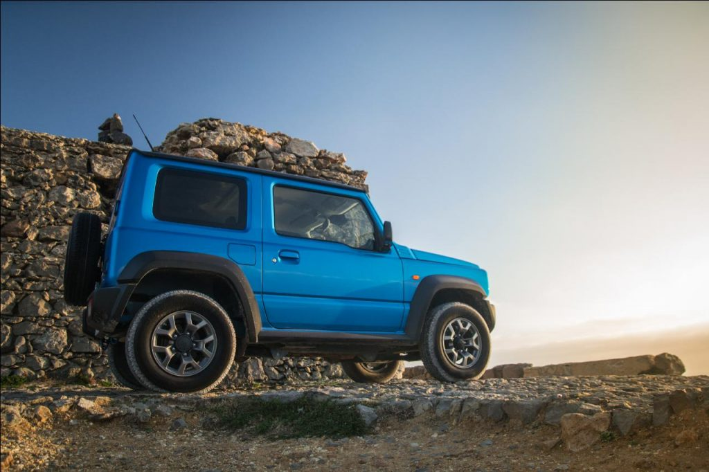 Suzuki Jimny, até ao fim do mundo e mais além