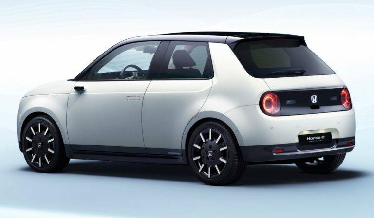 Honda e, o carro que dispensa os espelhos retrovisores