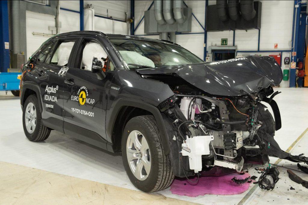 Euro NCAP distingue sete novos modelos com cinco estrelas
