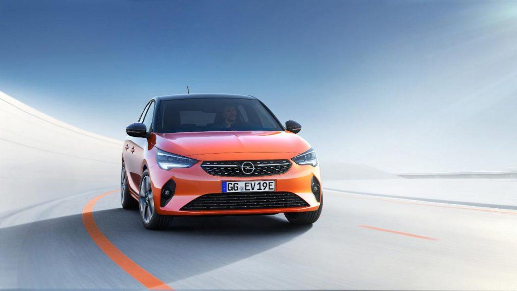 Opel eletrifica a nova geração Corsa