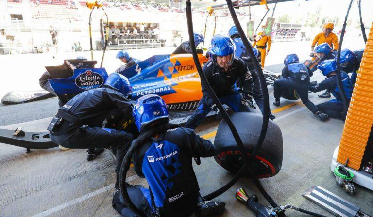 Estes são os pit stop mais rápidos da Fórmula 1