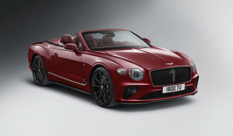 Bentley Continental GTC Number 1 celebra o centenário da marca