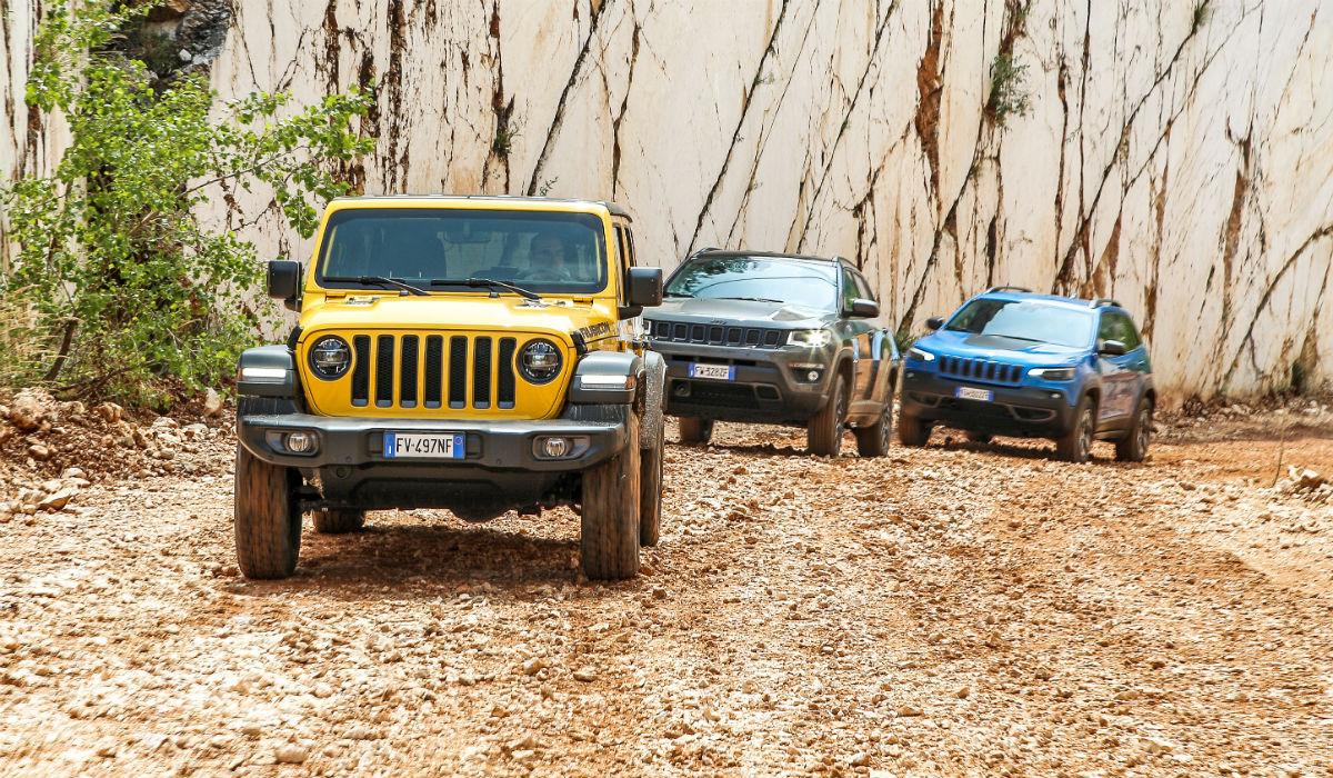 De uma vez só, a Jeep atualiza toda a sua gama