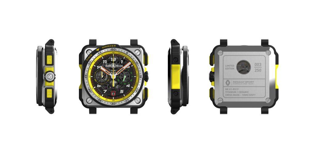Os relógios da Bell & Ross que se inspiraram em equipa da Fórmula 1