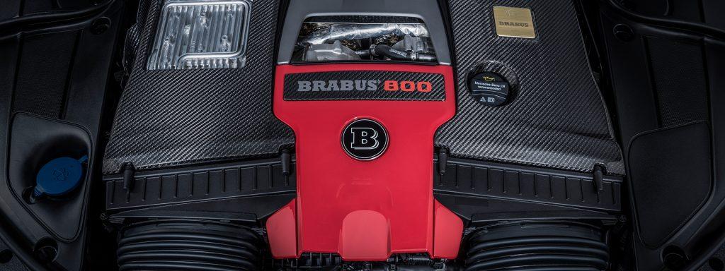 """Brabus 800, o""""monstro"""" que tem motor V8 e 800 cavalos"""