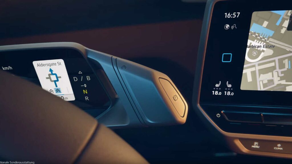Interior do Volkswagen ID.3 foi revelado por engano