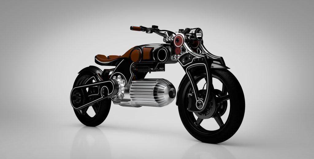 Curtiss Hades, a moto elétrica com um design arrojado
