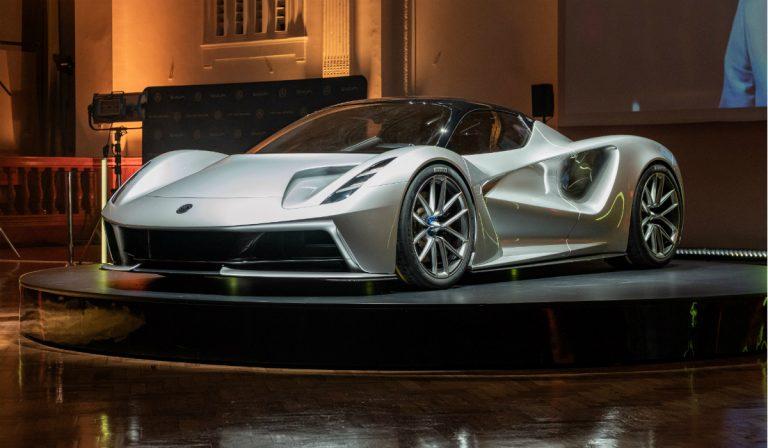 Lotus Evija é o hipercarro de produção mais potente do mundo