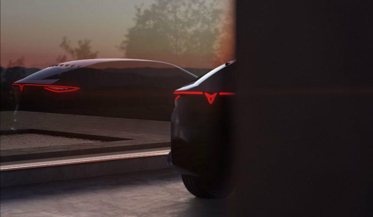 Cupra revela a silhueta do seu primeiro SUV elétrico