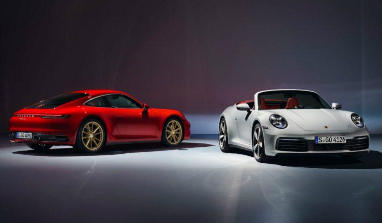 Novo Porsche 911 Carrera, a versão mais acessível do desportivo alemão