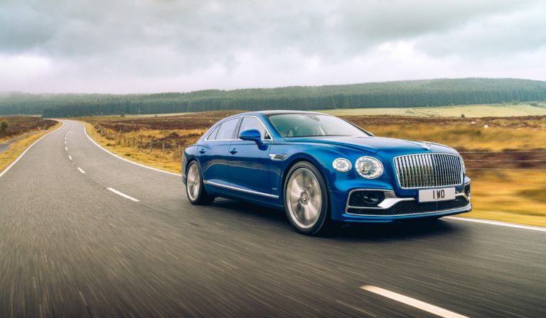 Bentley Flying Spur First Edition com produção limitada a um ano