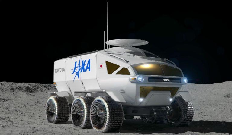 Toyota inicia projeto de veículo lunar com pilha de combustível