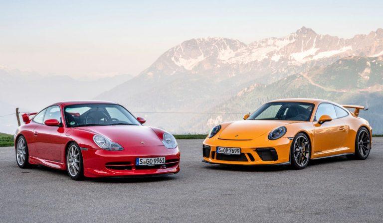 Porsche 911 GT3 celebra 20 anos de puro prazer de condução
