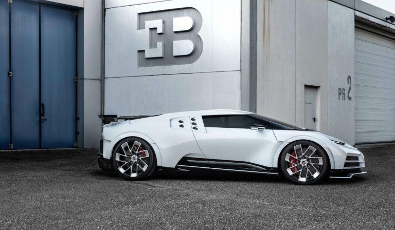 Bugatti Centodieci é uma homenagem ao icónico EB110