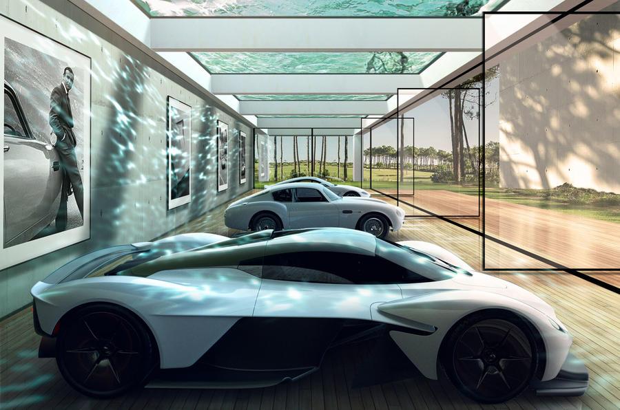 Aston Martin ajuda-o a construir a garagem de sonho