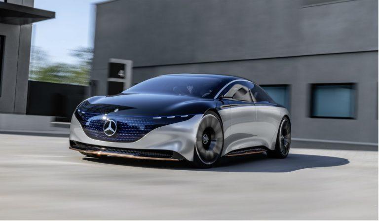 Mercedes-Benz Vision EQS antecipa o futuro elétrico de luxo da marca