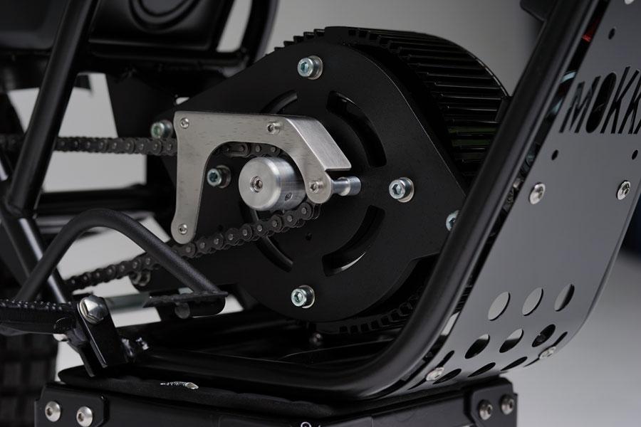Mokka converte a clássica Garelli KL50 numa moto elétrica
