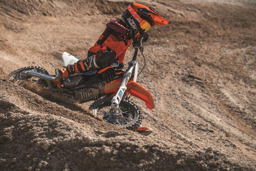 KTM SX-E 5, a moto elétrica para os mais novos