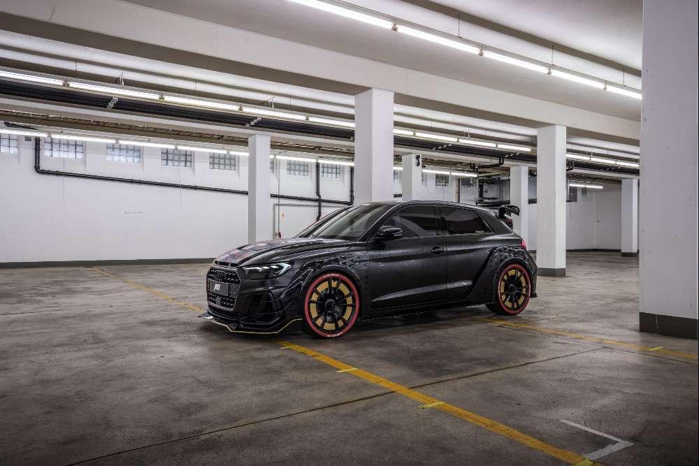 Este robusto Audi A1 tem 400 cv e um design único