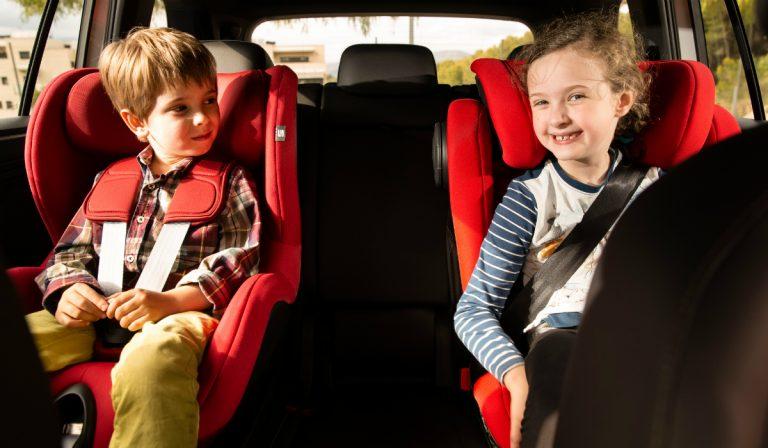 Dez regras importantes para transportar crianças em segurança