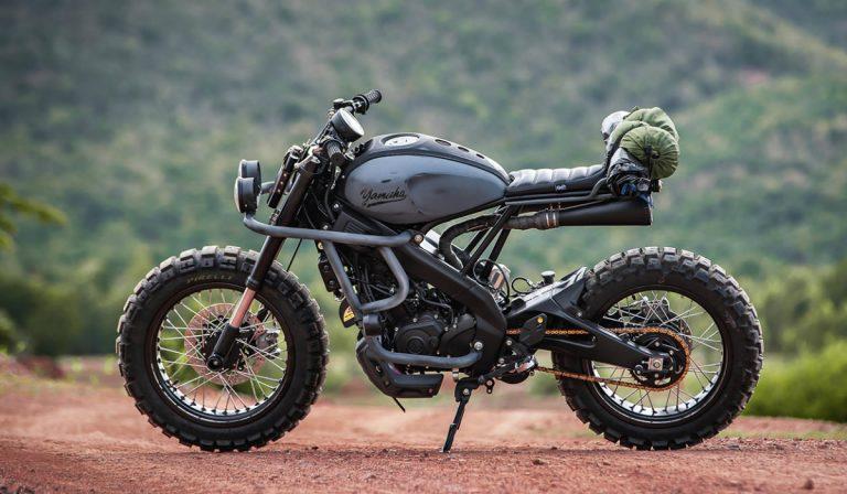 Yamaha XSR155 Trail Breaker, a robusta moto para o todo-o-terreno