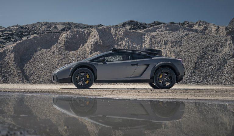 Fazer todo-o-terreno de Lamborghini Gallardo? Sim, é possível