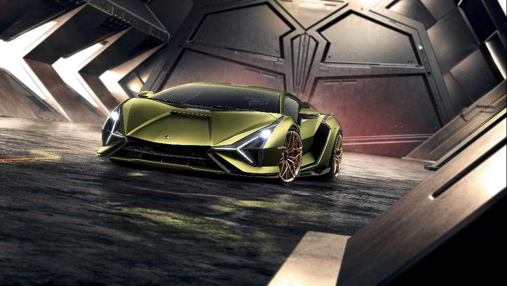 Lamborghini Sián recebe o primeiro V12 híbrido da marca