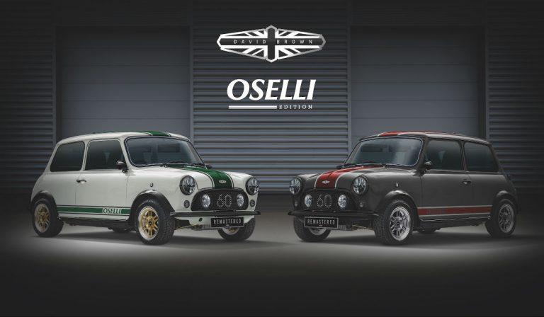 Mini Remastered Oselli Edition, um pequeno carro e um grande cheque