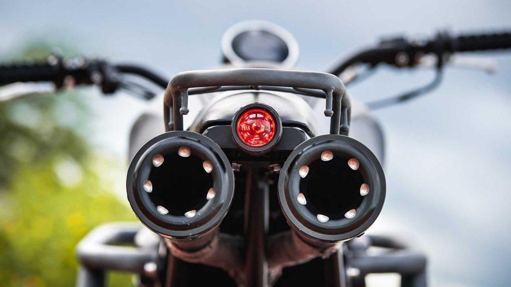 Esta Yamaha XSR155 modificada está preparada para o todo-o-terreno