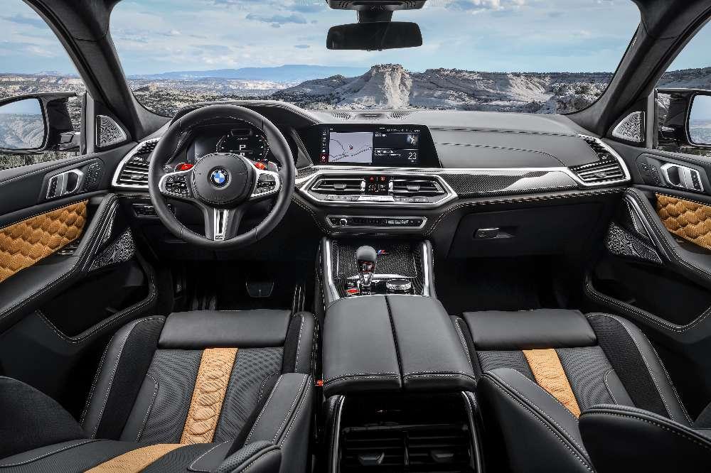 BMW X5 M e X6 M recebem versões Competition com 617 cv