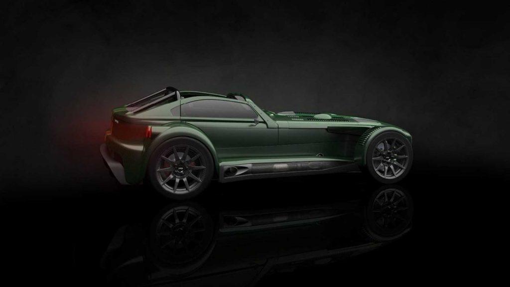 Donkervoort D8 GTO-JD70, o supercarro sem tejadilho com motor da Audi