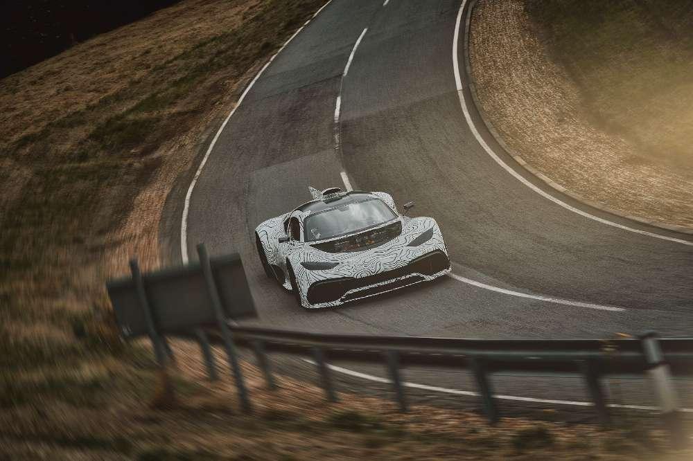 Mercedes-AMG One foi adiado e só chega em 2021