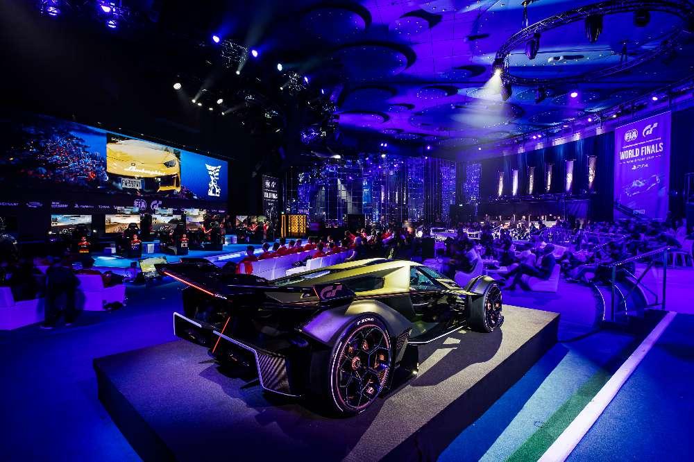 Gran Turismo vai receber o novo Lamborghini V12 Vision GT Concept