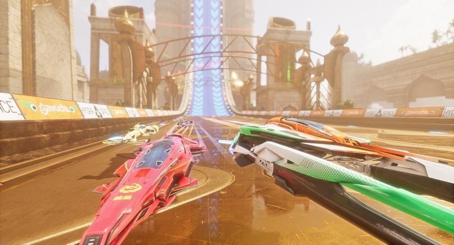 Pacer, o videojogo de corridas futuristas com naves espaciais