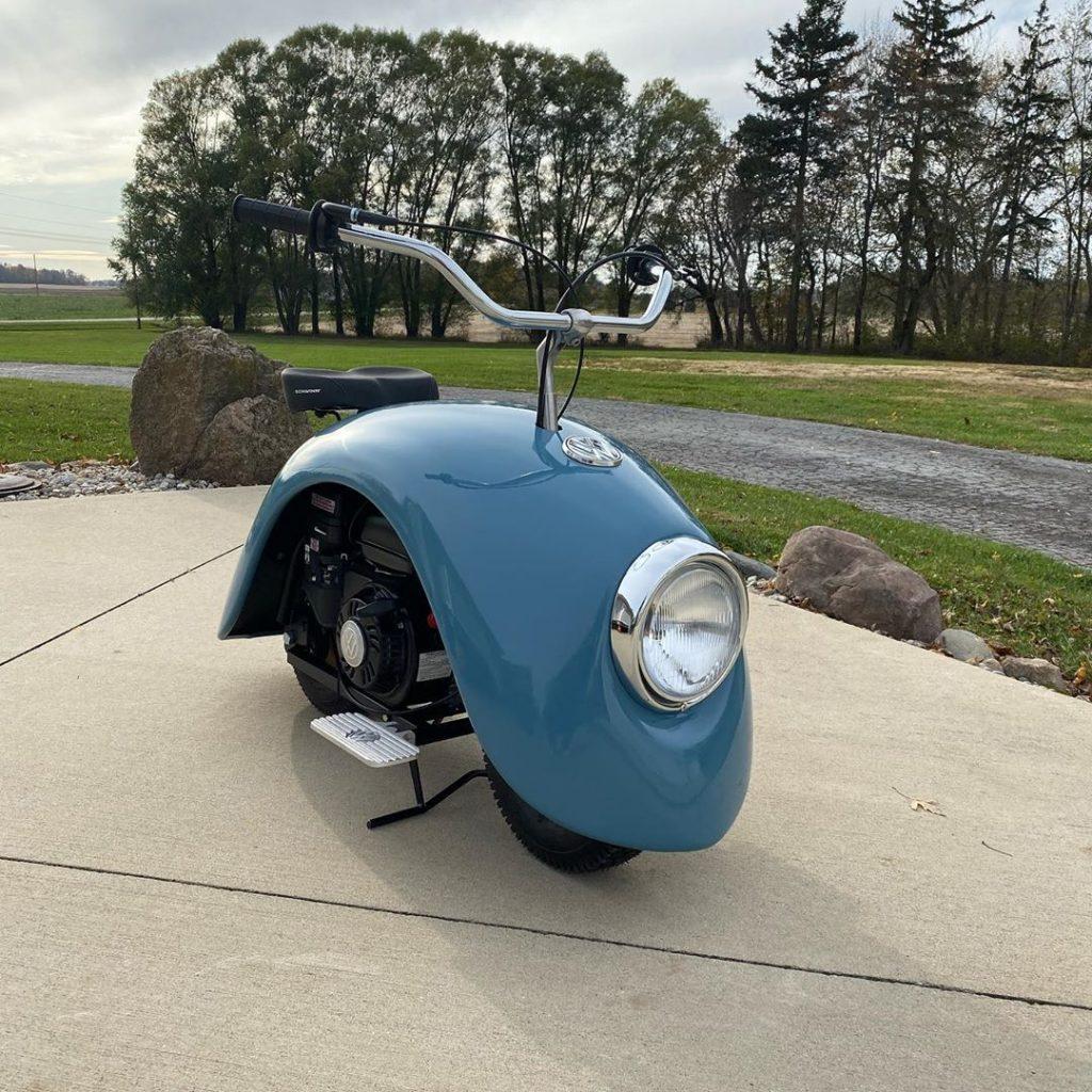 Volkswagen Carocha dá origem a duas motos fora do comum