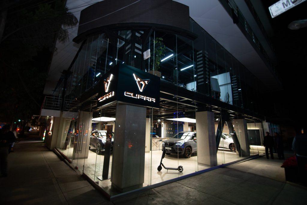 Cupra Garage, o primeiro espaço dedicado à marca abre na Cidade do México