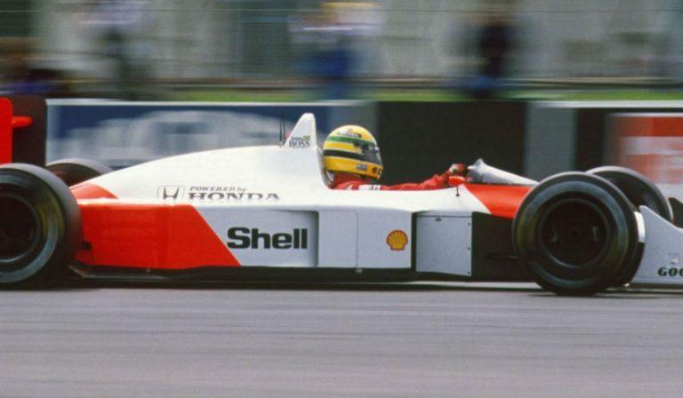 Bruno Senna conduziu McLaren de Ayrton em Interlagos